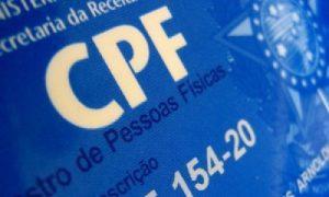 CPF - aumentar score