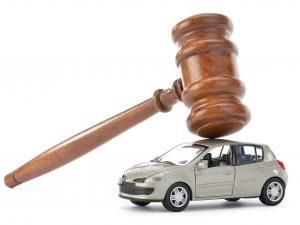 Leilão de carros recuperados
