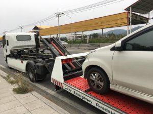 Remoção de veículo com busca