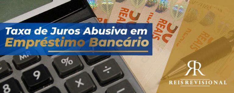 Taxa abusiva de juros