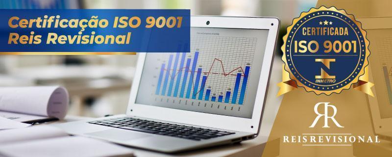 Certificação ISO 9001 Reis Revisional