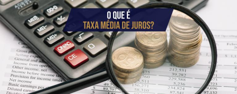 Taxa de juros média Bacen