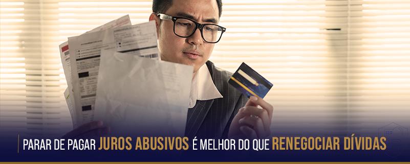 Renegociar dívidas ou revisar contrato