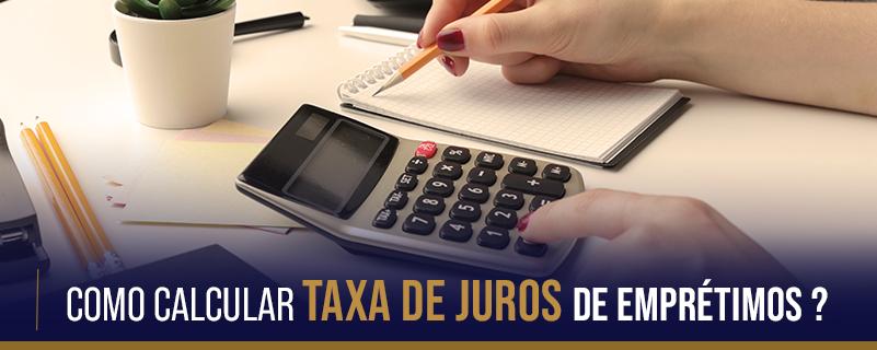 Taxa de juros de empréstimos