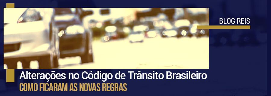 Alterações no Código de Trânsito Brasileiro