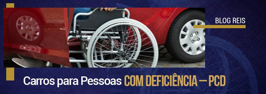 Carros para pessoas com deficiência - PCD