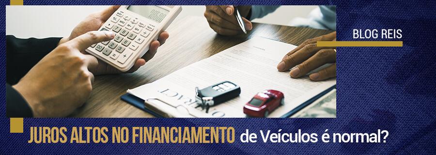 juros altos em financiamento de veículos